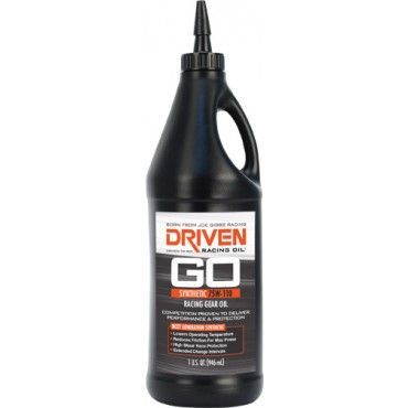 Driven 75W-110 Synthetic Gear Oil 5 Gallon Pale • Double E Racing