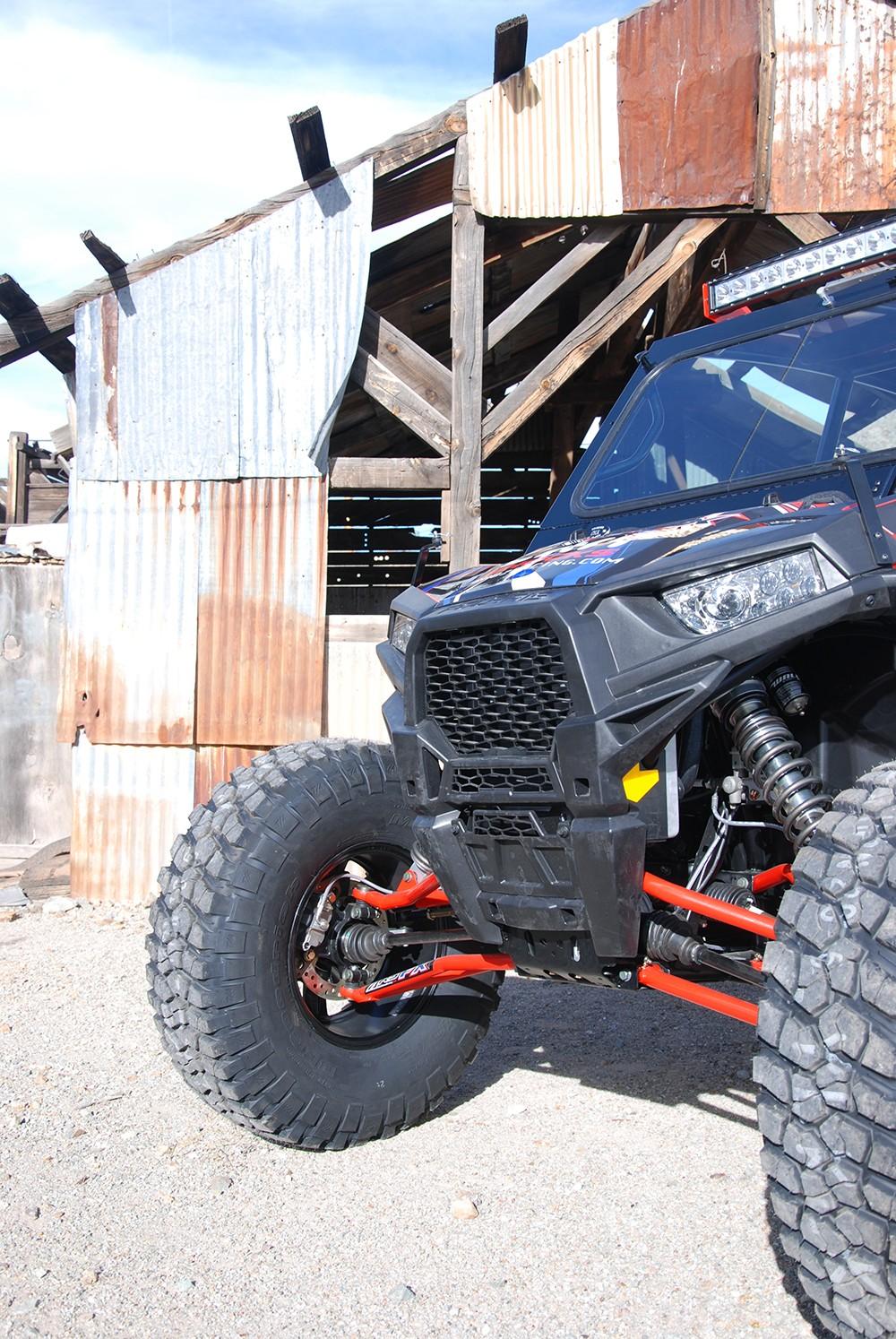 """ARS-FX +2"""" Forward A-Arm Kit for Polaris RZR XP 1000 / XP 4 1000 • Double E Racing"""
