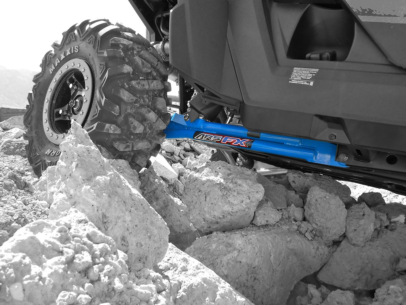 Trailing Arm Kit for Polaris RZR 900XP & 900XP 4 – Max Ground Clearance.  Sale!