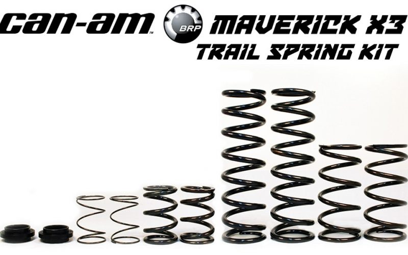 Can-Am Maverick X3 X RS Trail Spring Kit • Double E Racing Shop